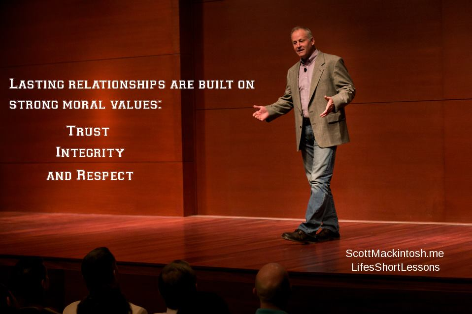 Scott Mackintosh on Lasting Relationships